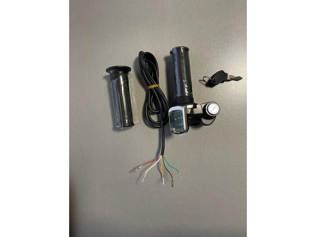 Plynová rukojeť pro elektrickou čtyřkolku 800W