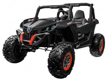 Elektrické autíčko Buggy 4x4, model 2021, - černé