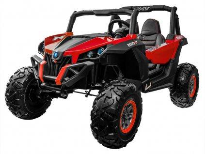 Elektrické autíčko Buggy 4x4, model 2021- červené