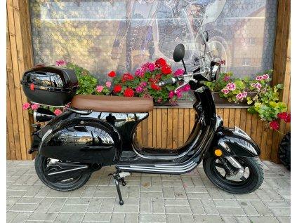 Scooter Vespa stile 2000w 60v černá