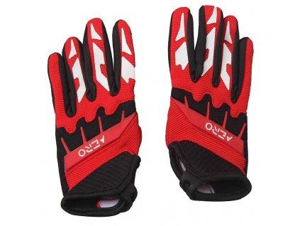 Dětské rukavice AERO - červené