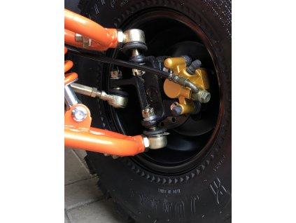 Dětská čtyřkolka HUNTER 125cc - oranžová
