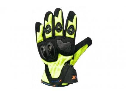 moto rukavice xmotos pro dospele velikost s cerne
