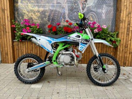 Motocykl XMOTOS - XB30  zelená 125cc 4t 17/14