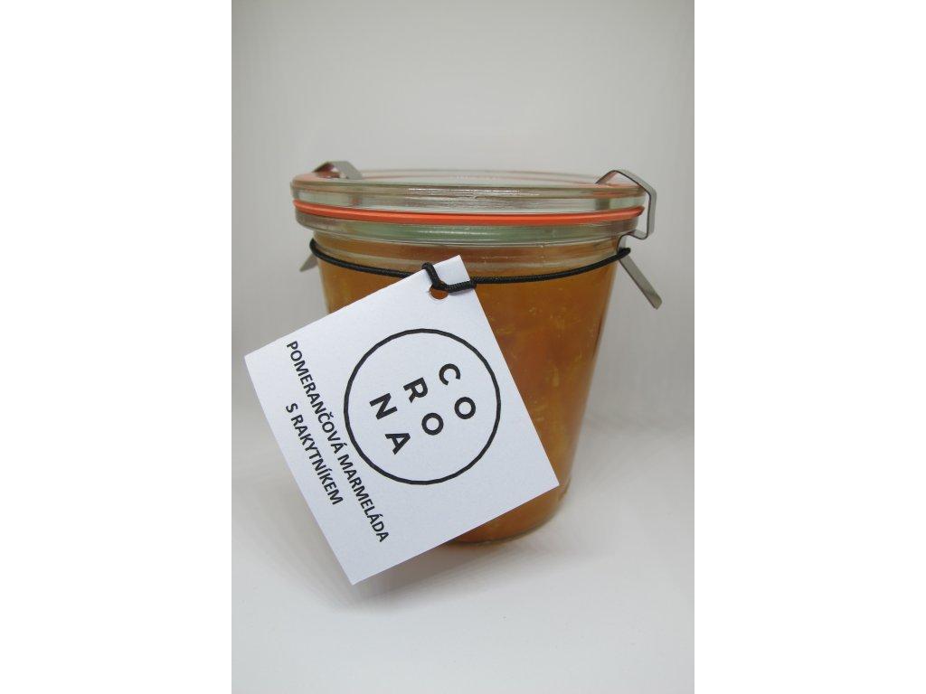 Pomerančová marmeláda s rakytníkem