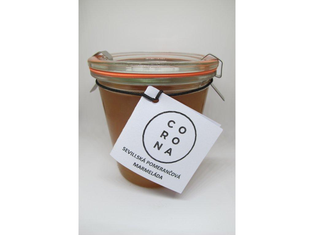Sevillská pomerančová marmeláda