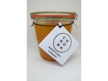 Mangový džem s vanilkou