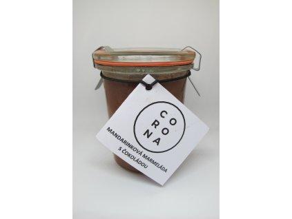 Mandarinková marmeláda s čokoládou
