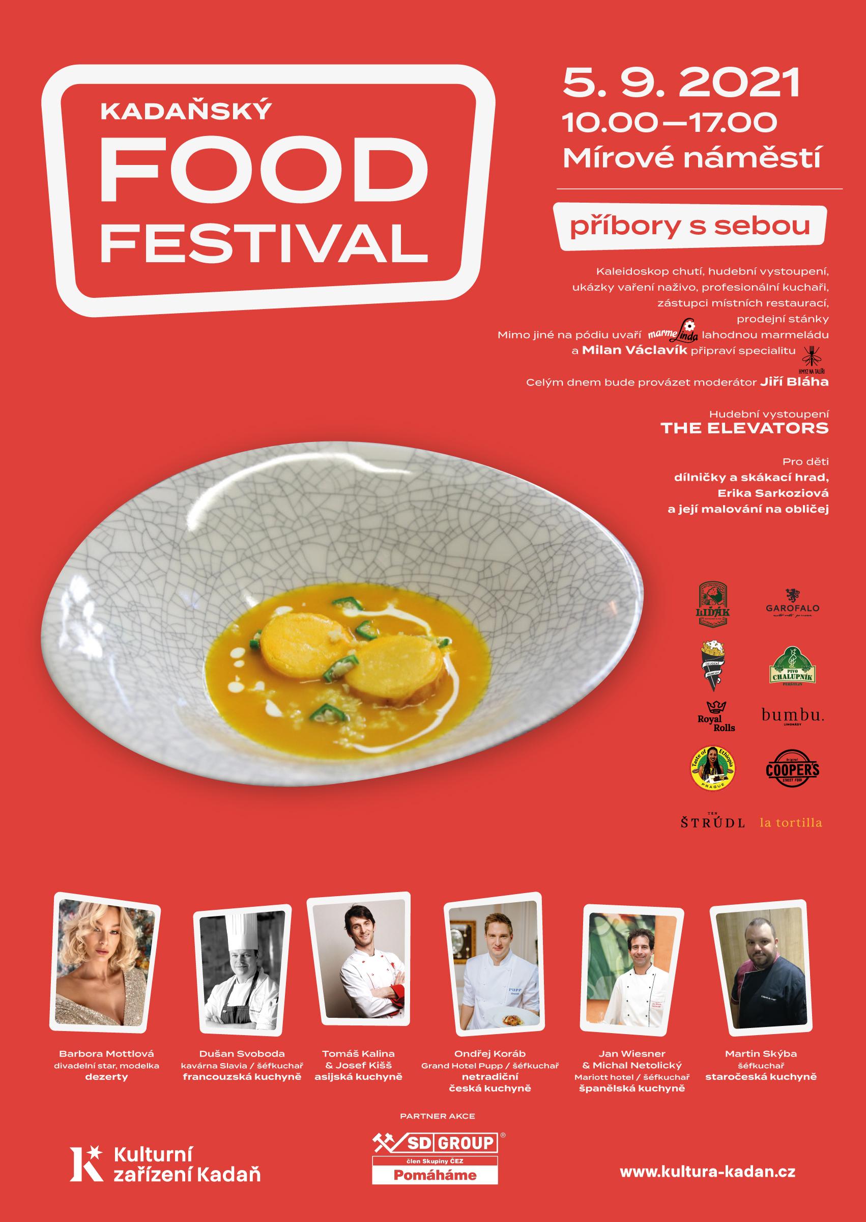 FOOD festival v Kadani