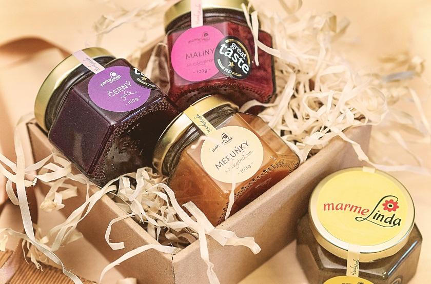 dárkové balení marmelád marmelinda