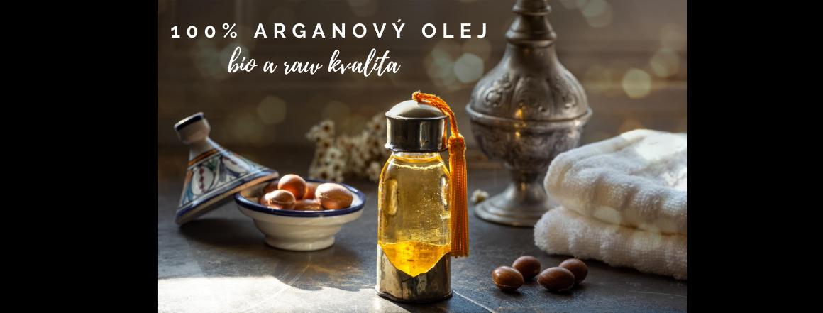 100% BIO arganový olej lisovaný za studena