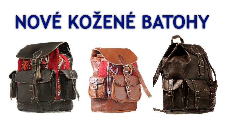 Nové kožené batohy 2