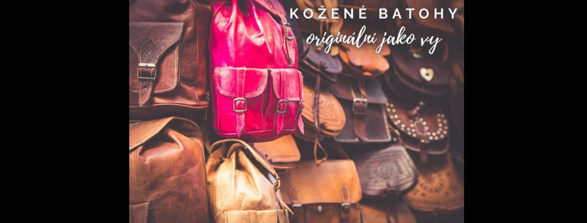 Kožené batohy, kabelky, tašky, ruční výroba