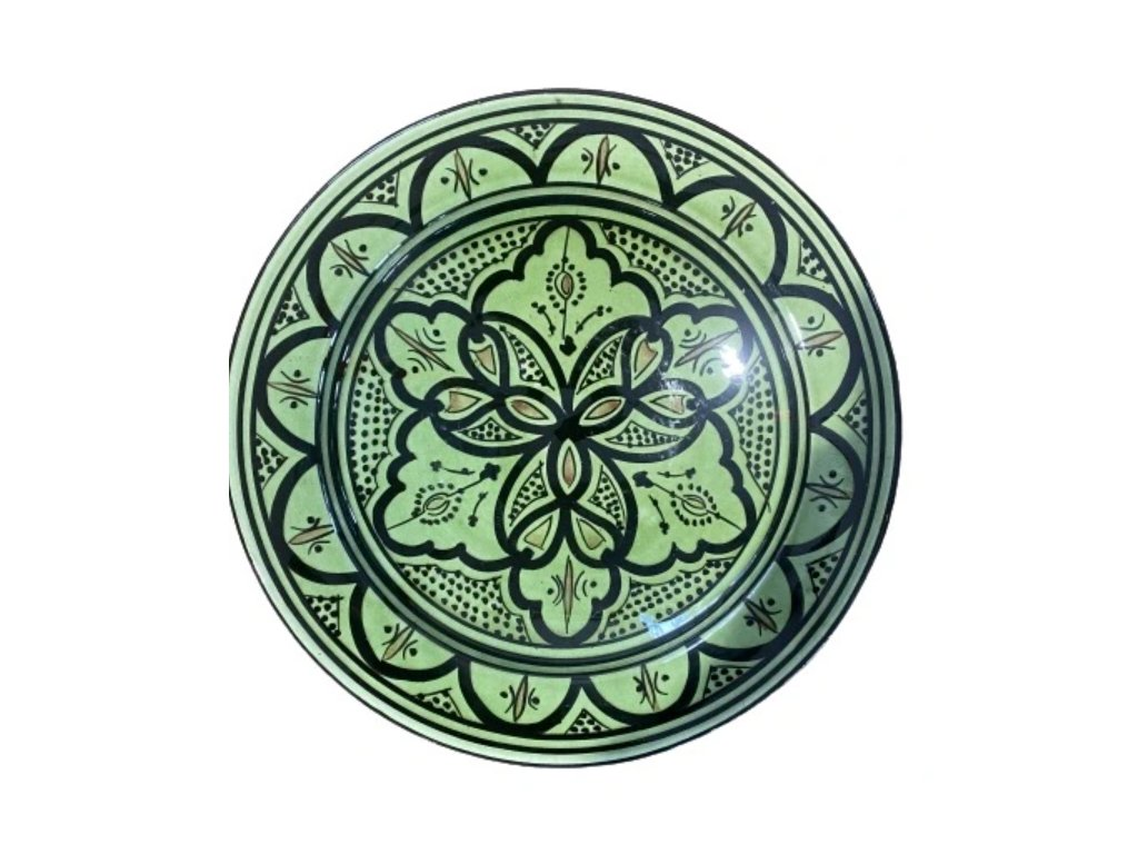Plate Vert 25cm