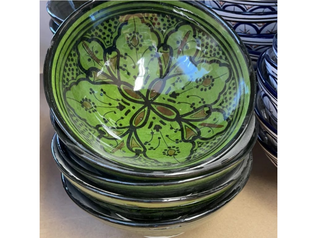 Plate Vert 20cm