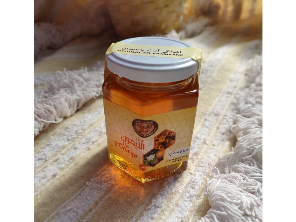 Med z pomerančových květů