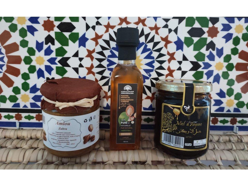 """Balíček """"Luxusní Marocká Snídaně"""""""