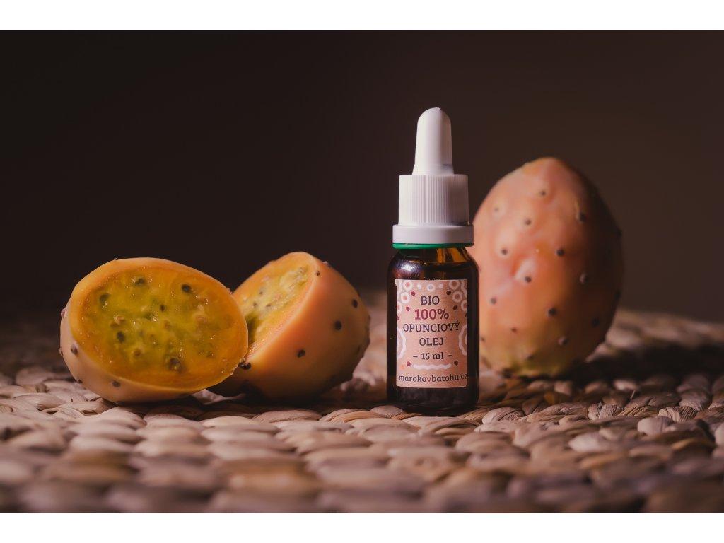 Bio opunciový olej