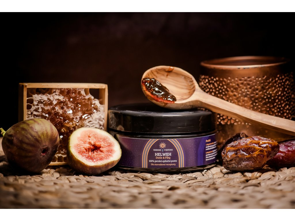 Helweh — 100% arabská depilační pasta