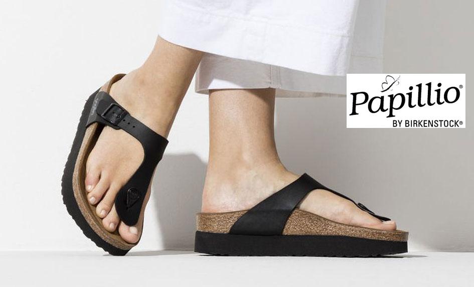 Zdravotní obuv Papillio by Birkenstock na Platformě