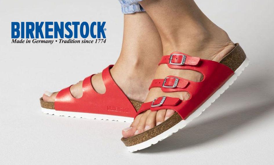 Třípáskové zdravotní pantofle Birkenstock Florida