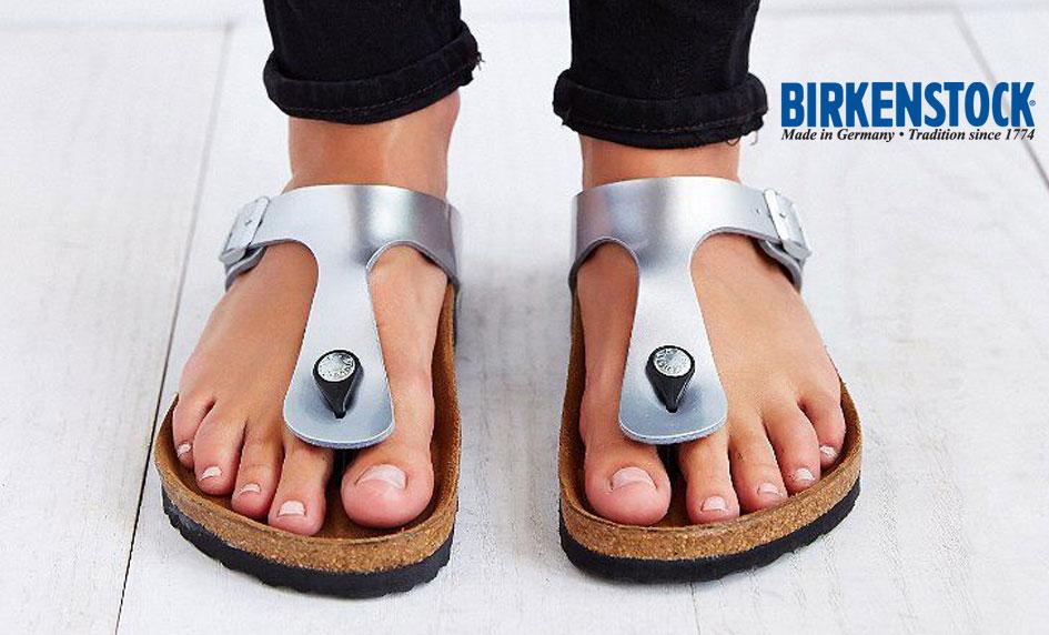 Moderní trendy zdravotní žabky Birkenstock Gizeh