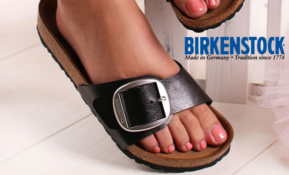 Jednopáskové zdravotní pantofle Birkenstock Madrid