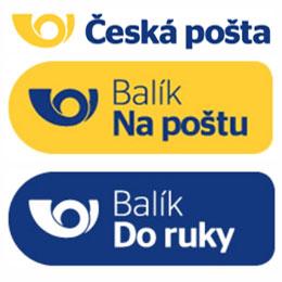 Doprava Českou poštou (Balík do ruky, Balík na poštu)