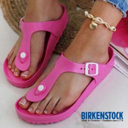 Zdravotní obuv birkenstock na pláž a k bazénu