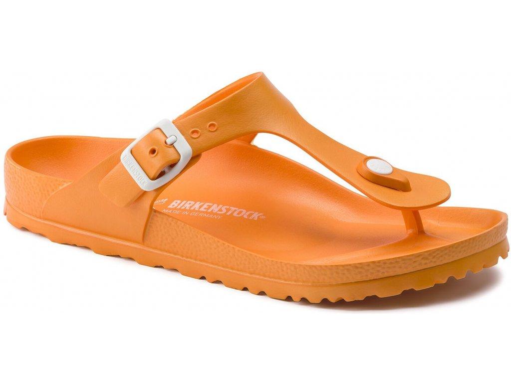 Birkenstock Gizeh - Neon orange