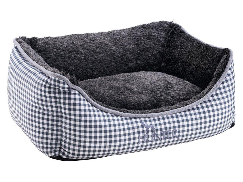 Pelíšek pro psa Hunter Astana, šedo-modrá