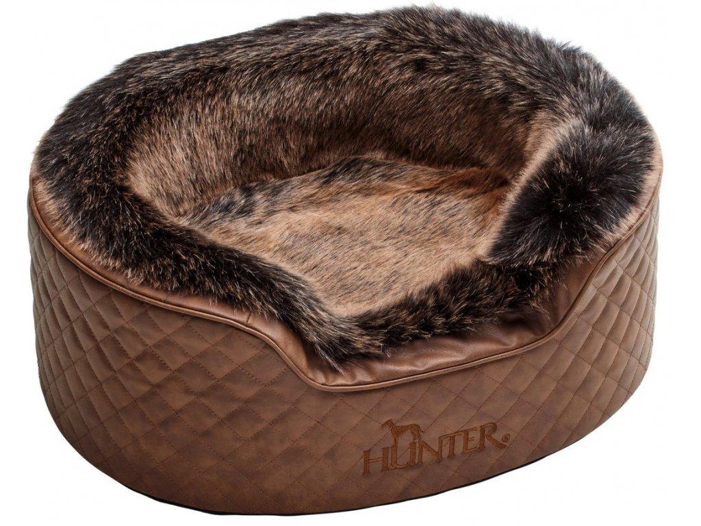 Pelíšek pro psa Hunter Gotland, hnědá