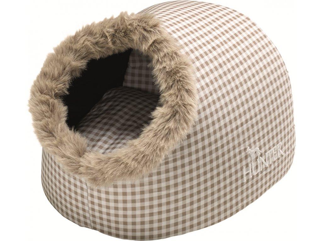 Pelíšek pro kočku Hunter Astana - béžový