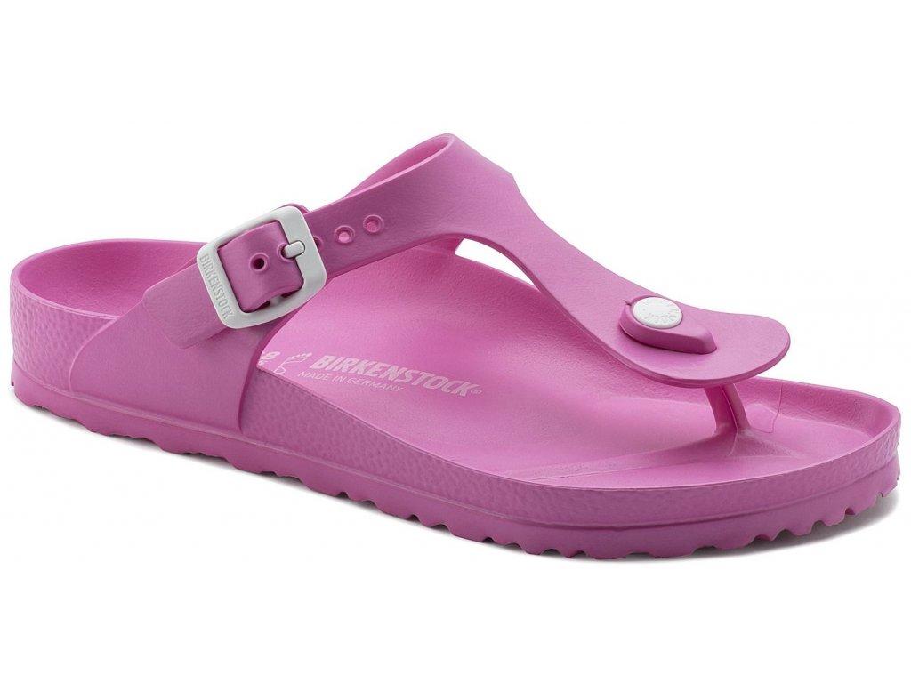 Birkenstock Gizeh - Neon pink / EVA
