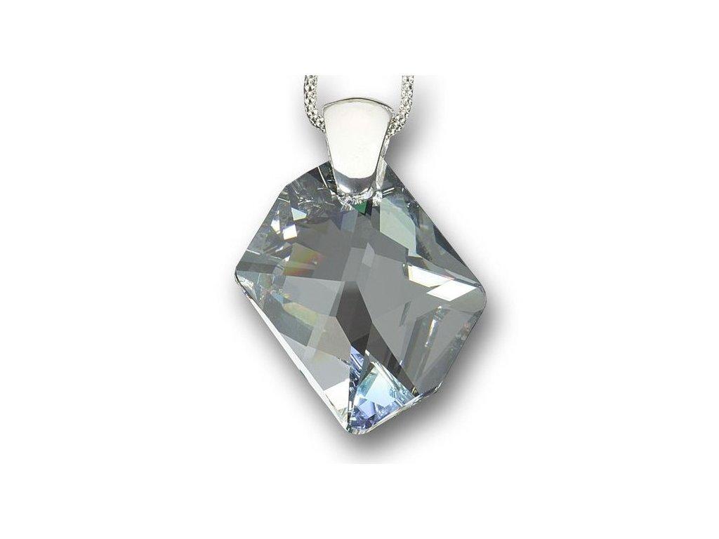 Swarovski Elements Přívěsek na krk - Cosmic 40mm / crystal