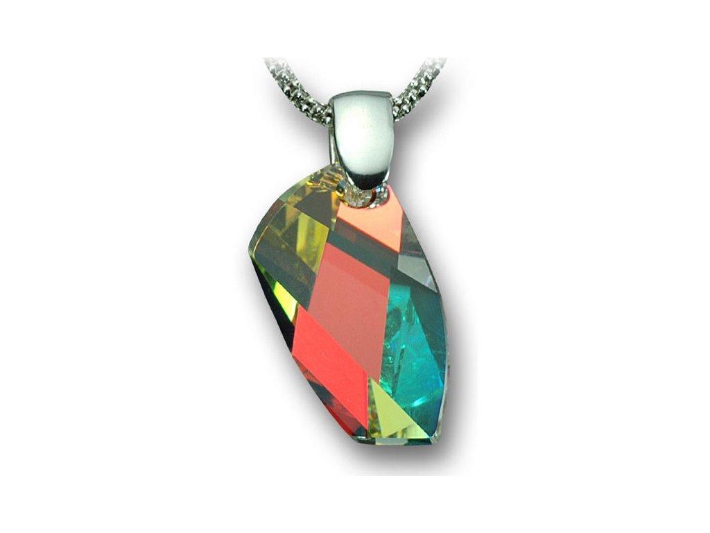 Swarovski Elements Přívěsek na krk - Avant-garde 20mm / crystal