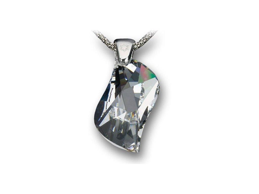 Swarovski Elements Přívěsek na krk - Swing 30mm / crystal