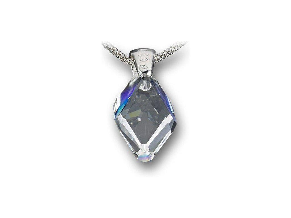 Swarovski Elements Přívěsek na krk - Cubist 22mm / crystal