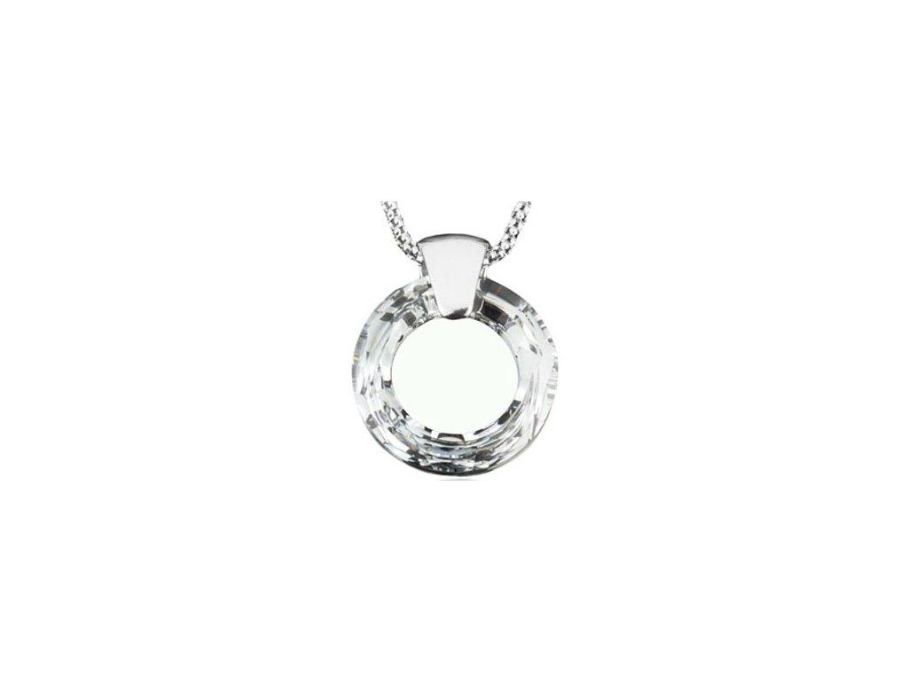 Swarovski Elements Přívěsek na krk Circlet 20mm / crystal