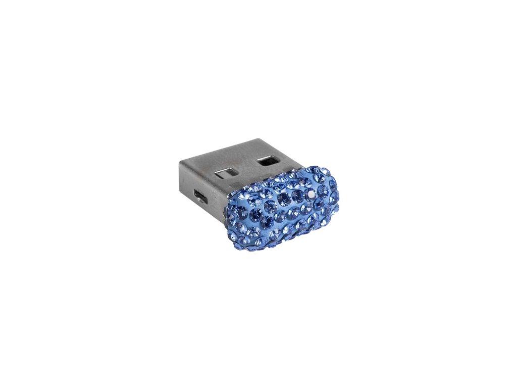 Swarovski Elements USB 8GB / sapphire