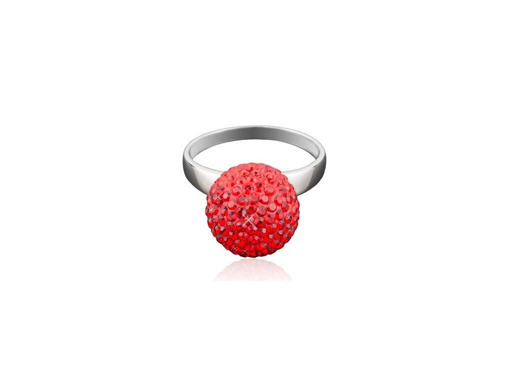 prsten Swarowski Elements ball parts siam