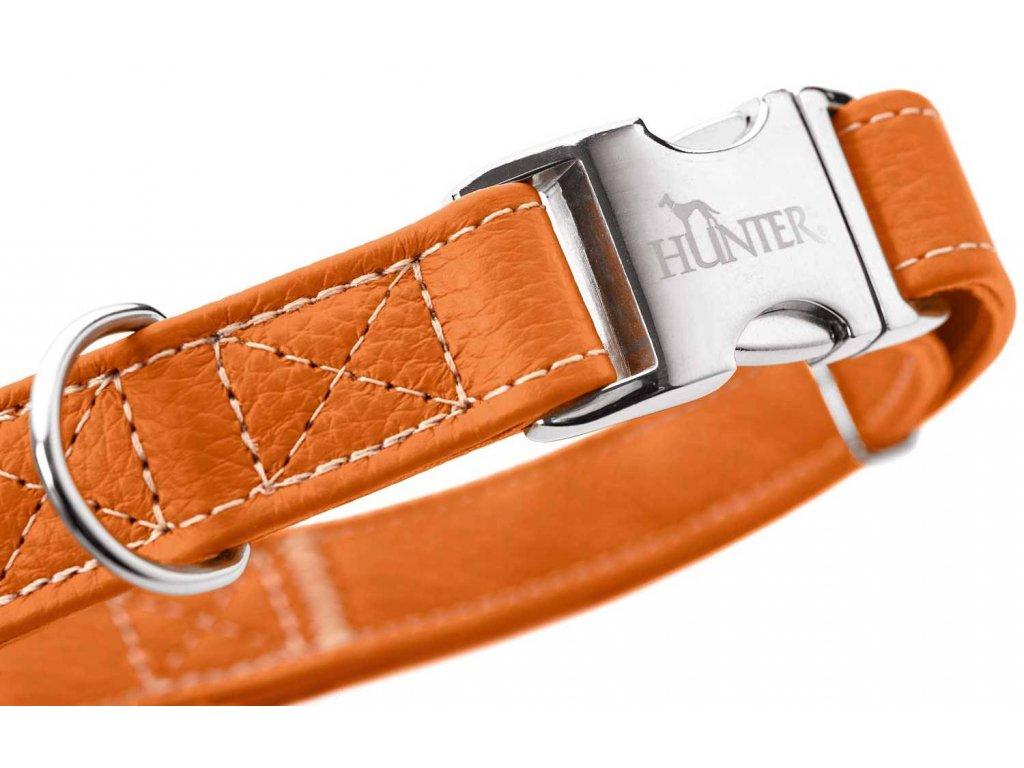 Obojek pro psa Hunter Cannes Alu-strong - oranžový