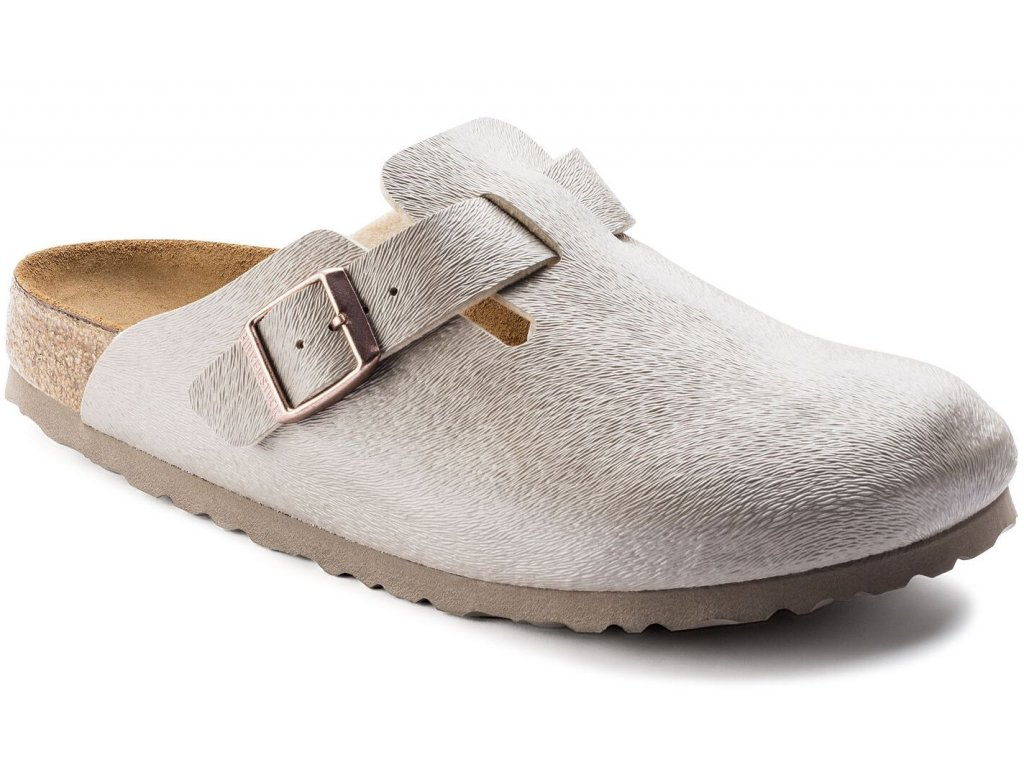 Birkenstock Boston - Animal Fascination Mud