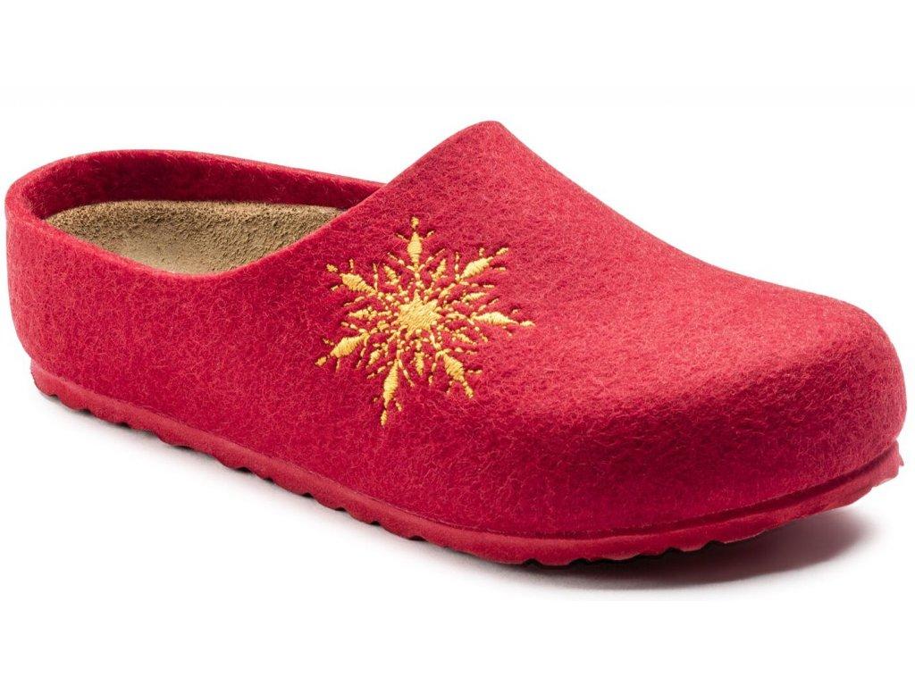 Birkenstock Kaprun - Snow Star Red