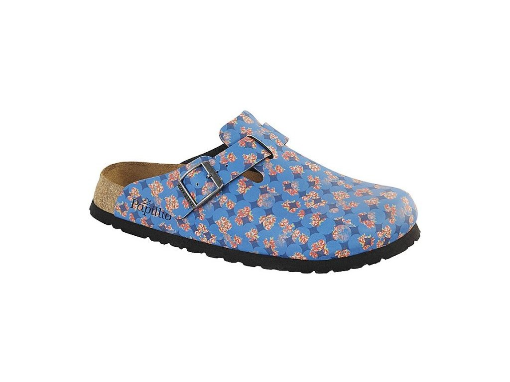 Papillio Boston - Floral circles blue