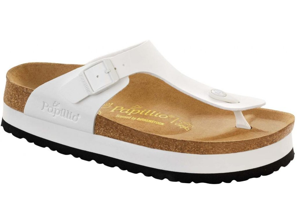 Papillio Gizeh Platform - White