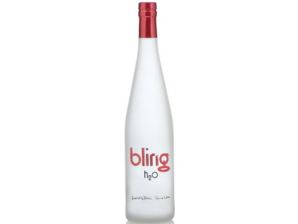 Bling H2O-pramenitá voda, 0.75l - Červená