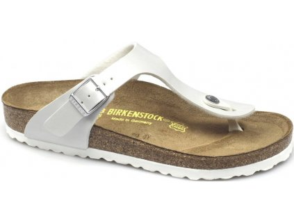 Birkenstock Gizeh - Pearly white