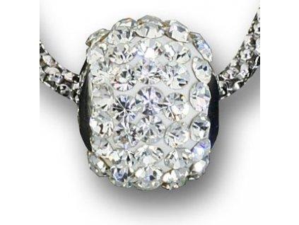 Swarovski Elements Přívěsek na krk - ring parts 10mm / crystal