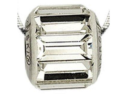 Swarovski Elements Přívěsek na krk s řetízkem Ring - 10mm / crystal